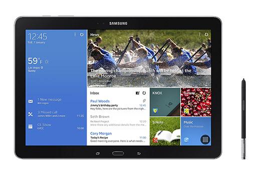 Samsung Galaxy NotePro 12.2 pantalla