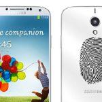 El Galaxy S5 llegará con sensor de huella digital y no de iris