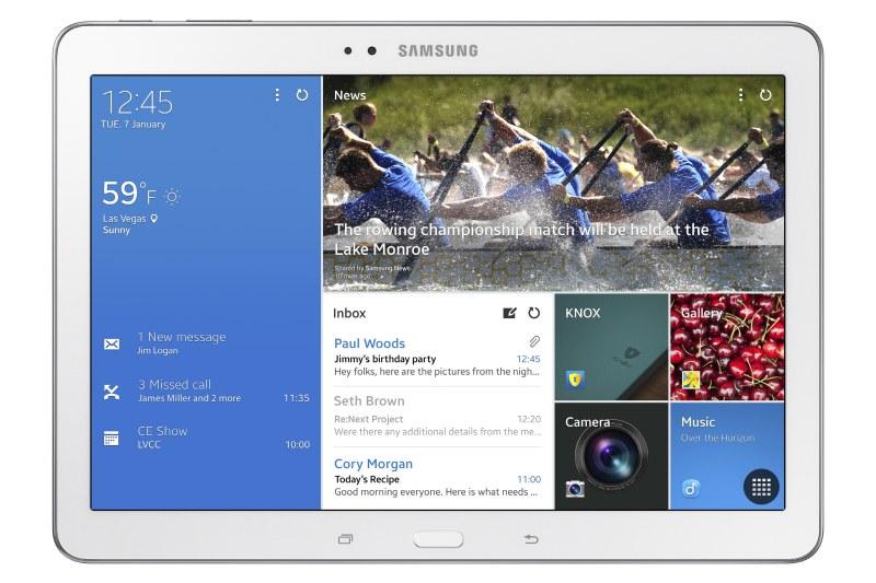 Samsung Galaxy Tab Pro 10.1 oficial pantalla