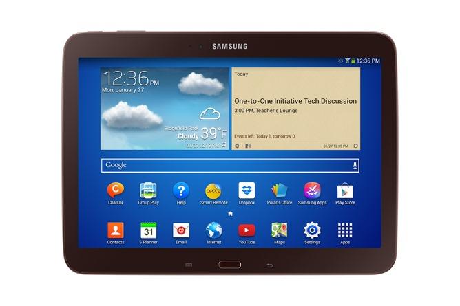 Samsung Galaxy Tab 3 10.1 para la Educación
