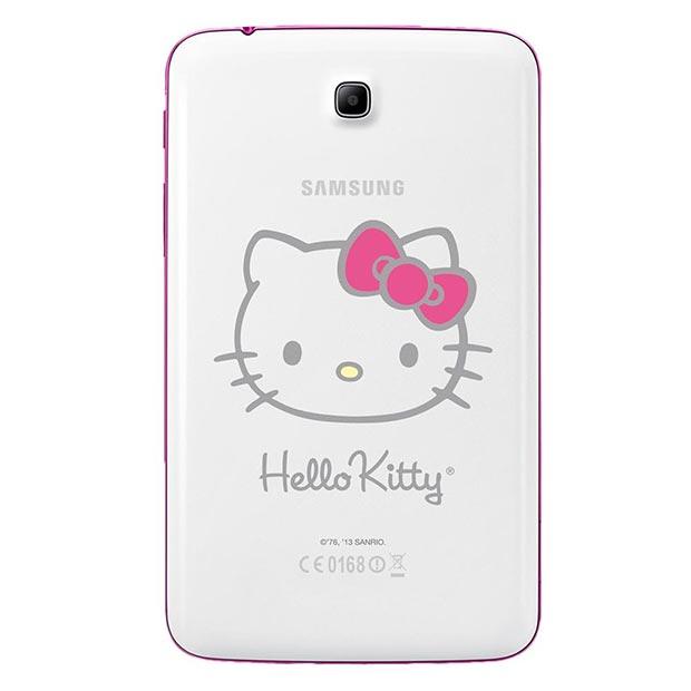 Samsung Galaxy Tab 3 7.0 Hello Kitty en México cámara trasera