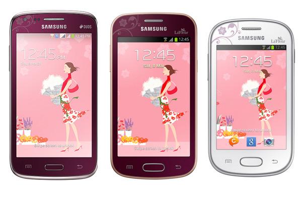 Samsung Galaxy Trend, Core y Fame Lite  LeFleur pantalla