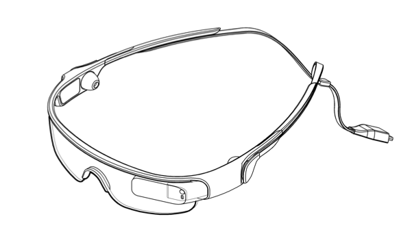 Galaxy Gear Glass patente