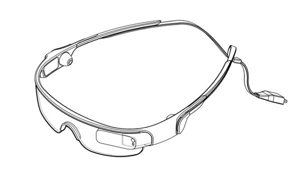 Galaxy Gear Glass patente