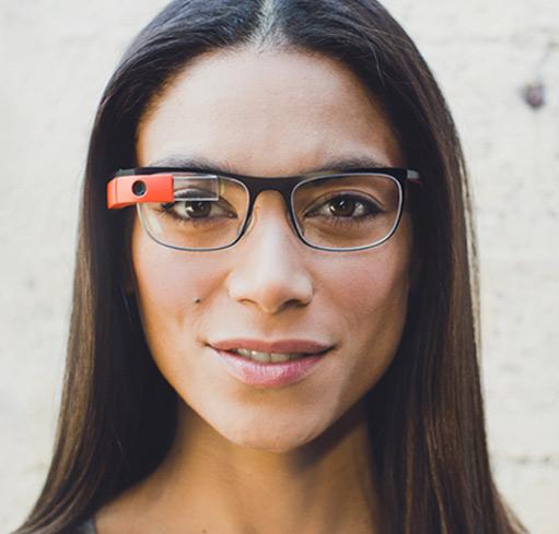 Google Glass Titanium Collection Thin - Delgado