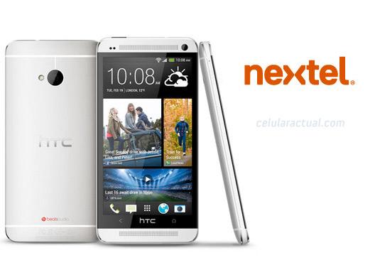 HTC One en México con Nextel