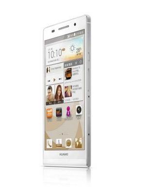 Huawei Ascend P6 S pantalla de lado