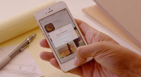 id táctil iPhone 5s