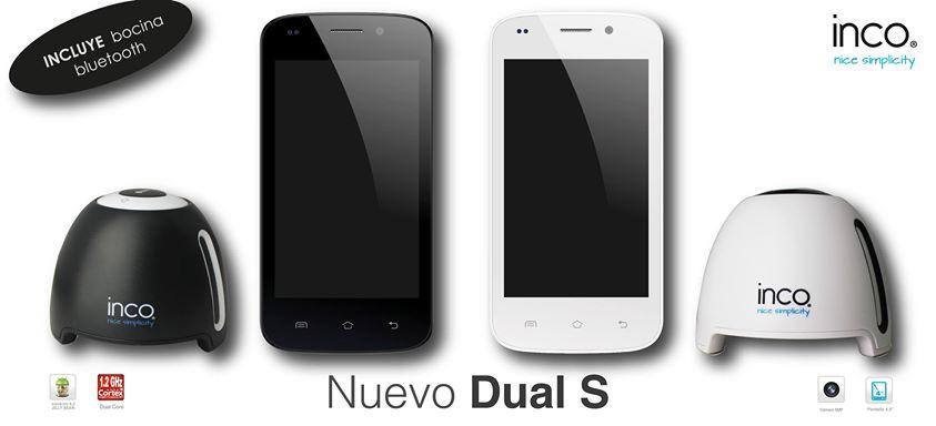 Inco Dual Sdual-core doble SIM libre ya en México y bocinas