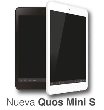 Inco Quos Mini S tablet quad-core y Android Jelly Bean en México