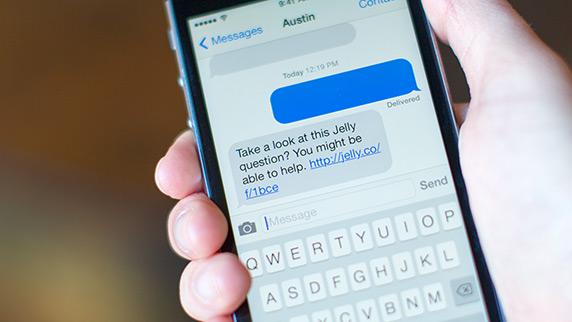 Jelly App ejemplo iPhone