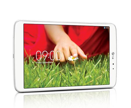 LG G Pad 8.3 V500 en México White Blanco pantalla Full HD