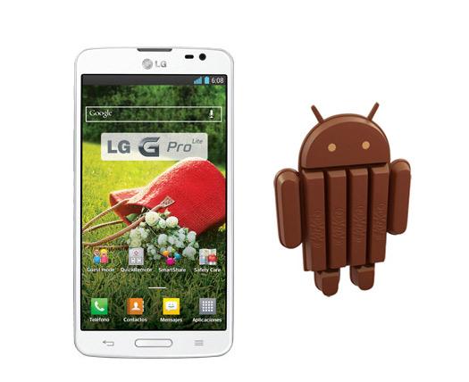 LG Optimus G Pro Lite Android 4.4 KitKat