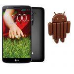 LG G2 comenzará a recibir Android 4.4 KitKat a finales de mes