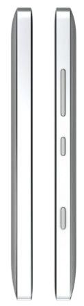 Nokia Lumia Icon 929 oficial de lado espesor