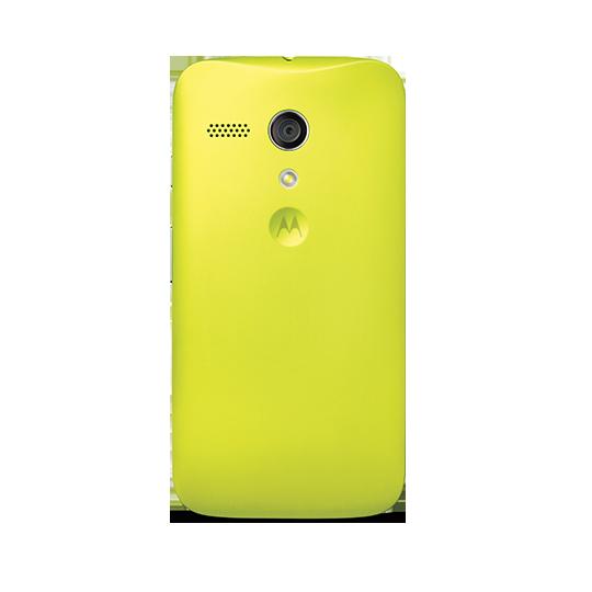 Motorola Shells para Moto G color Amarillo