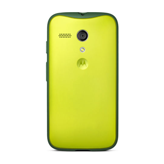 Moto G Grip Shells Lime Lemon - color lima limón