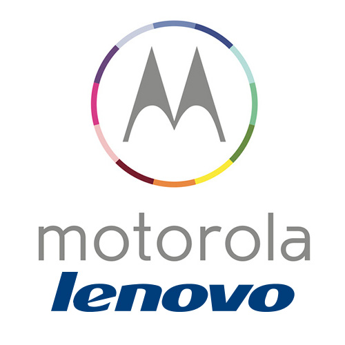 Motorola de Lenovo logos