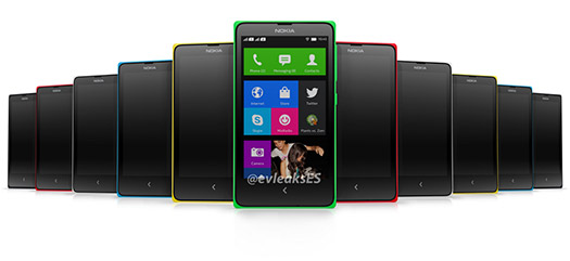 Normandy Nokia Android Phone  gama de colores Normandies