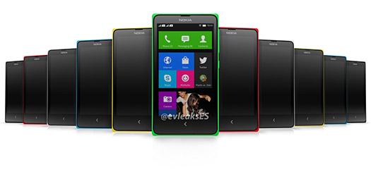 Normandy Nokia Android Phone  gama de colores Normandies