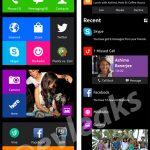 Nokia Normandy Android phone nuevas pantallas muestran detalles de interfaz