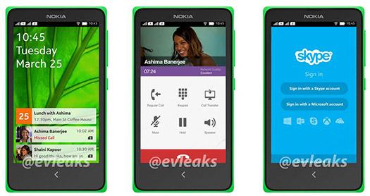 Nokia Normandy Nokia's Android Phone Interfaz UI