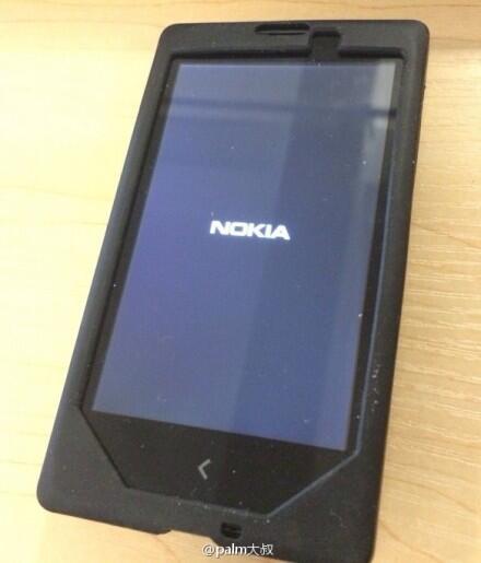 Nokia Normandy con Android prototipo