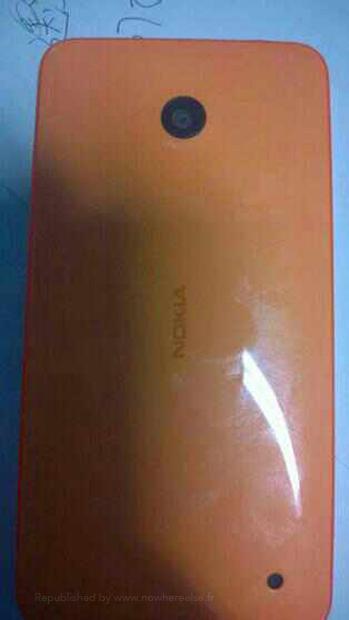 Nokia X (Normandy) Android phone en directo parte trasera