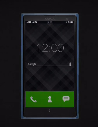 Nokia X Normandy render concepto