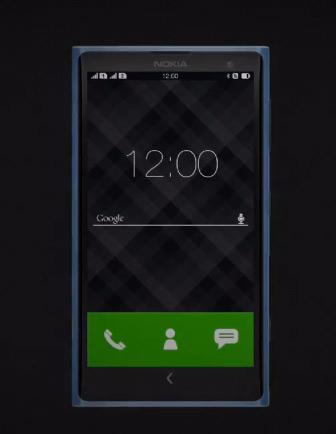 Nokia X Normandy render concepto