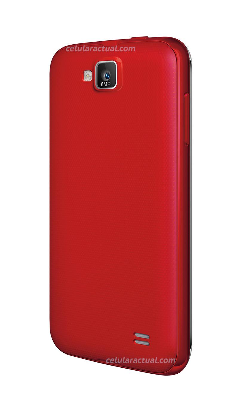 Nyx Noba en México con Telcel color rojo cámara trasera de 8 MP