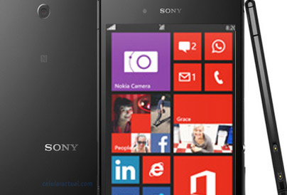 Sony Windows Phone 8 2014 No official