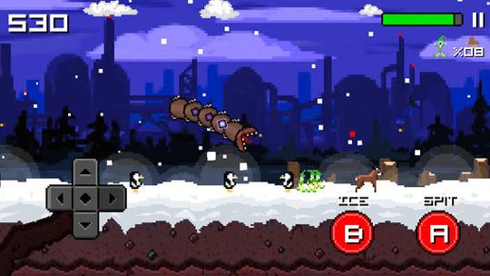 app super mega worm