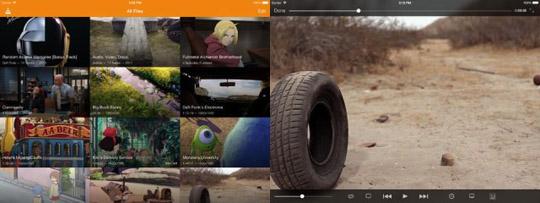 VLC para iOS ahora soporta Dropbox y Google Drive