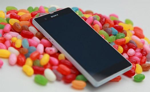 Sony con Android 4.3 Jelly Bean a los Xperia SP, T, TX y V este mes