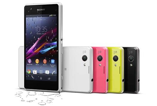 Sony Xperia Z1 Compact colores