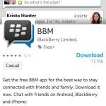 BBM podría llegar a los Asha de Nokia