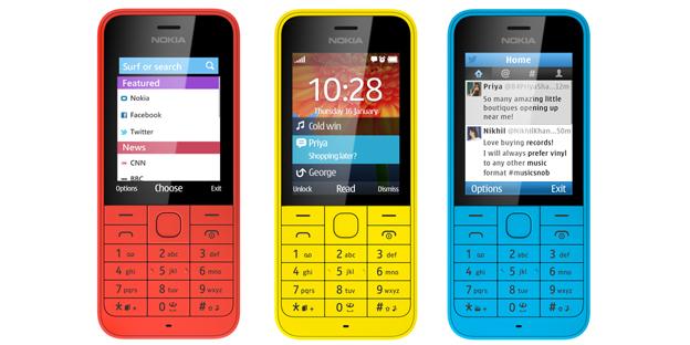 Nokia 220 colores