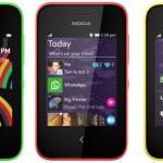 Nokia presentó sus accesibles Asha 203 y Nokia 220