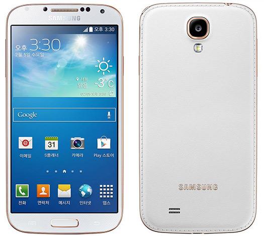 Samsung presenta el Galaxy S4 LTE-A con cubierta trasera imitación piel