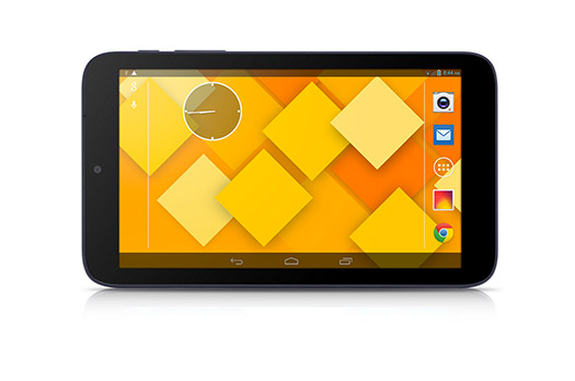 Alcatel presenta la One Touch Pixi 7 tablet pantalla negro