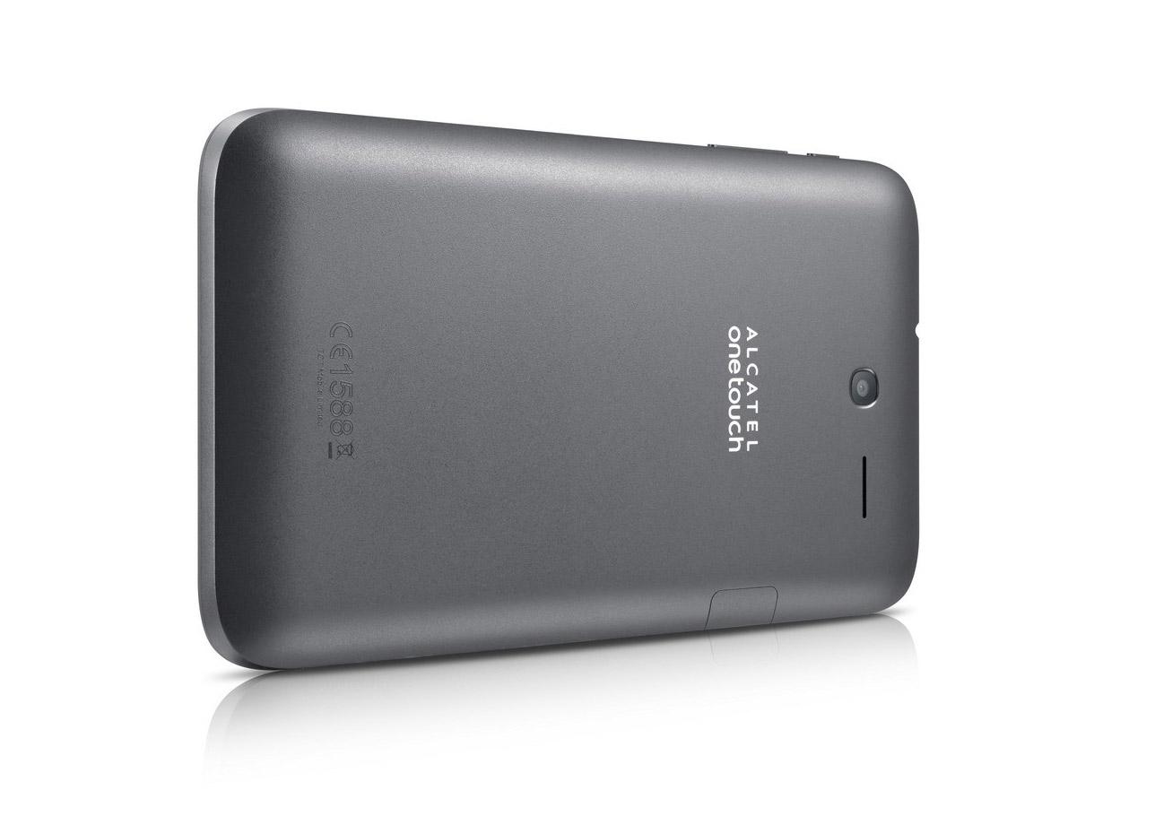 Alcatel presenta la One Touch Pixi 7 tablet cámara trasera
