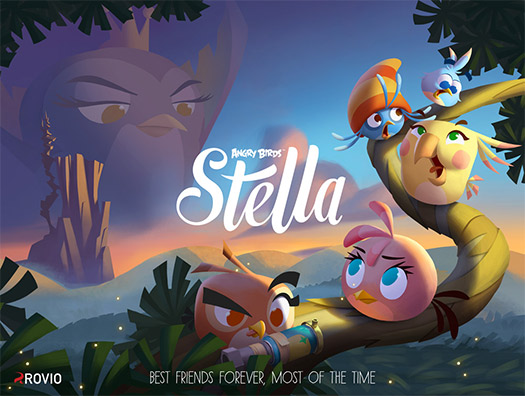 Angry Birds Stella ya disponible para Android, iPhone y iPad