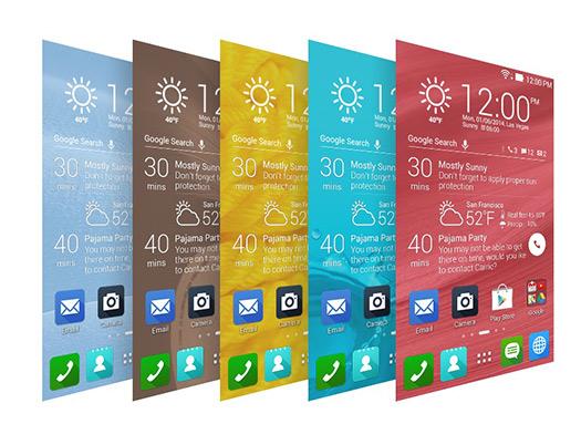 Asus Zen UI nueva interfaz diseño