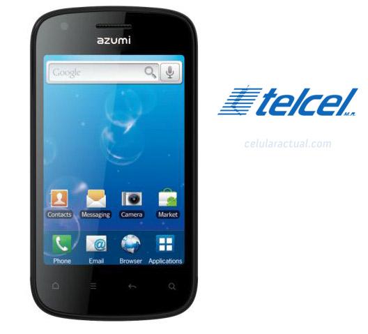 Azumi A35 Android en México con Telcel