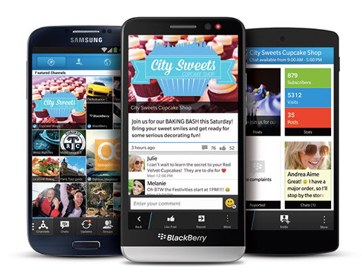 BBM 2.0  para Android , iPhone y BlackBerry