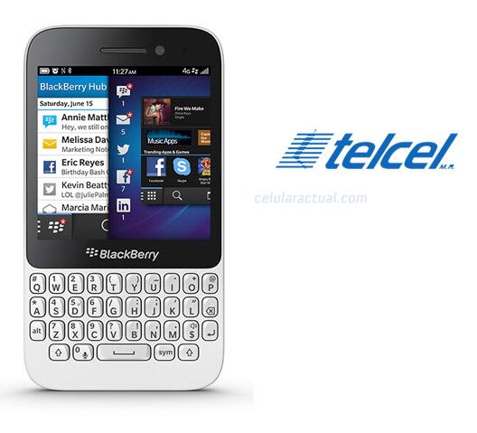BlackBerry Q5 en México con Telcel