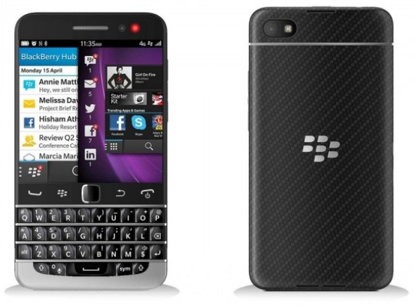 BlackBerry Q20 oficial de prensa