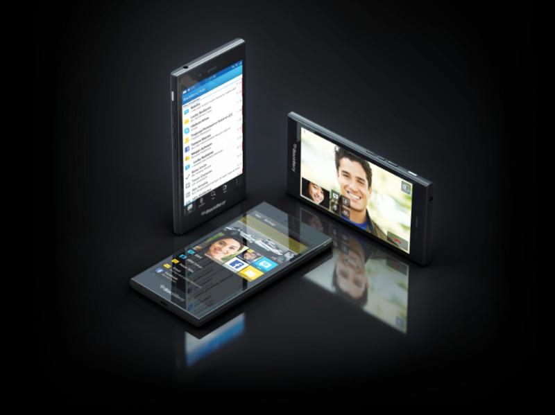 "BlackBerry Z3 color negro pantalla de 5"" varios"