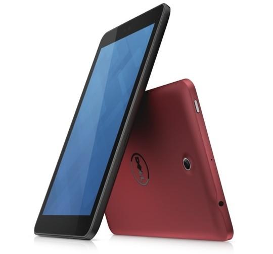 Dell Venue 8 tablet Android 4.2 Jelly Bean pantalla de lado y parte trasera